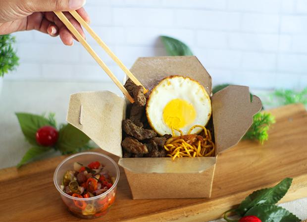 Noodle Beef with Sambal Matah dok. duniamasak