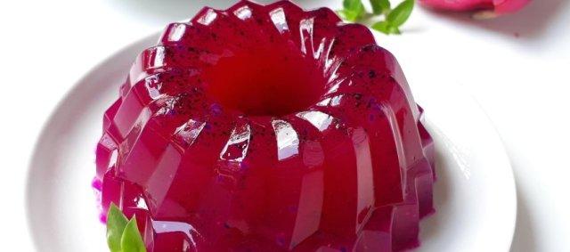 Puding buah naga via resepkoki.id