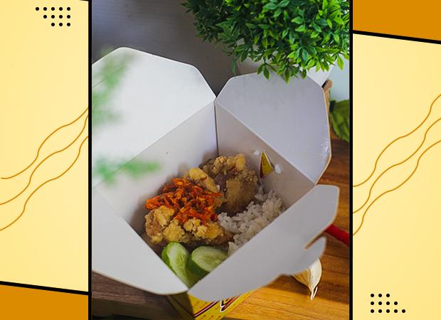 Rice Bowl Ayam Kribo Sambal Penyet & Ayam Gondrong Saus Mushroom dok. duniamasak