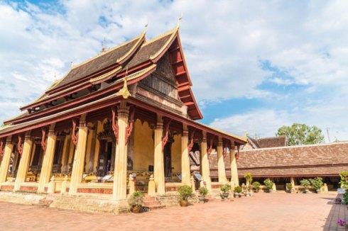 tempat wisata di laos Wat Si Saket via freepik ala tim duniamasak.com