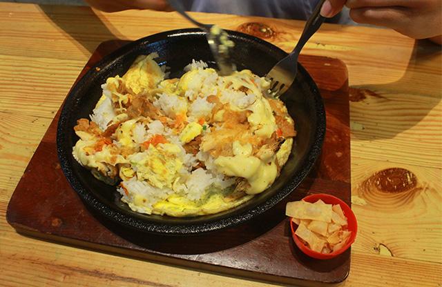 Acakadut pepper rice ayam geprek dok. duniamasak