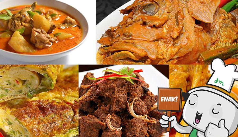 Kuliner Khas Ranah Minang via dok. duniamasak.com
