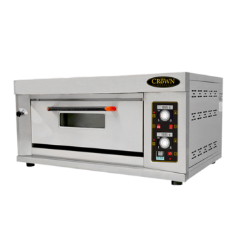 Jual Electric Oven Pizza 1 Deck Listrik CROWN WP-10E via duniamasak