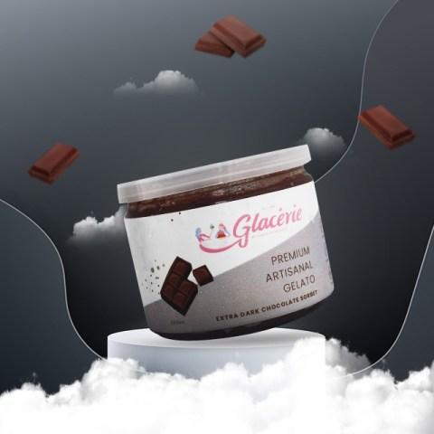 Glacerie Gelato Extra Dark Chocolate dok. duniamasak