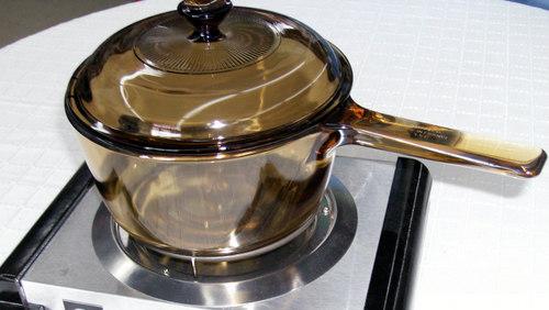 Memasak dengan alat masak kaca via www.internationalhousewares.com