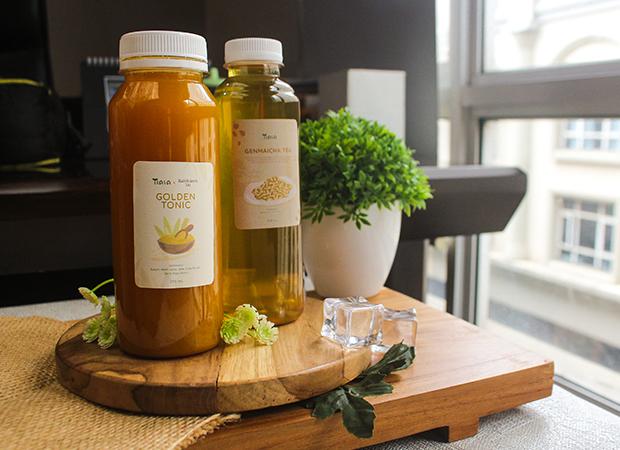 Golden Tonic & Genmaicha Tea dok. duniamasak