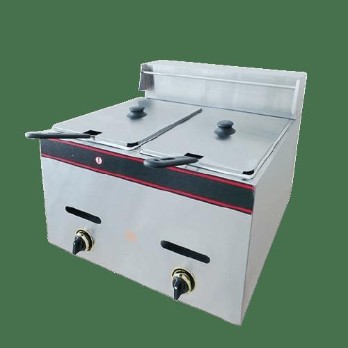 guataka Gas Deep Fryer Double TGF72 GTK060002 via duniamasak.com