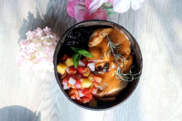 Chicken Mango Tango Salsa via dok. DuniaMasak.com