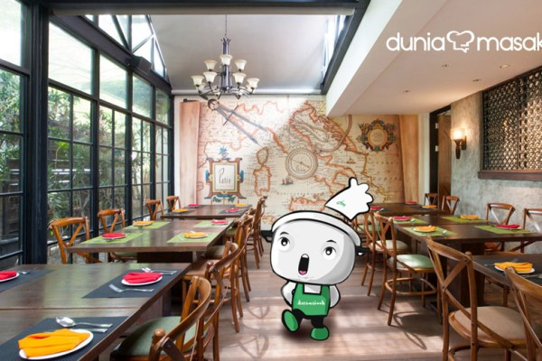Patio Venue & Dining, Jakarta via dok. DuniaMasak.com