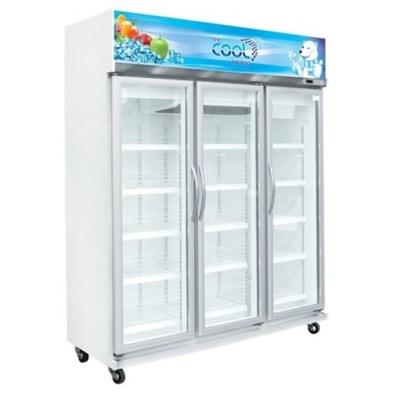 Tempat penyimpanan makanan Kulkas Upright Showcase Cooler THE COOL ALEX 3P Jumbo LED via duniamasak.com