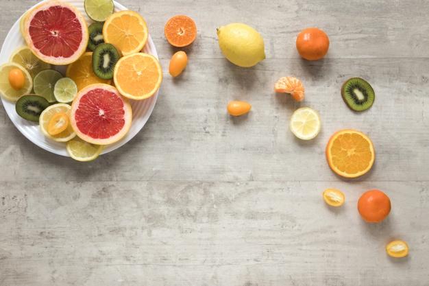 Makanan penangkal covid19 buah jeruk vitamin c via freepik ala duniamasak