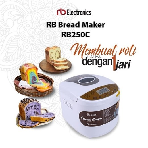 rb electronics Mesin pembuat roti B 250c via duniamasak.com