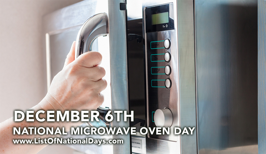 Rayakan Microwave Oven Day yuk! via istofnationaldays.com