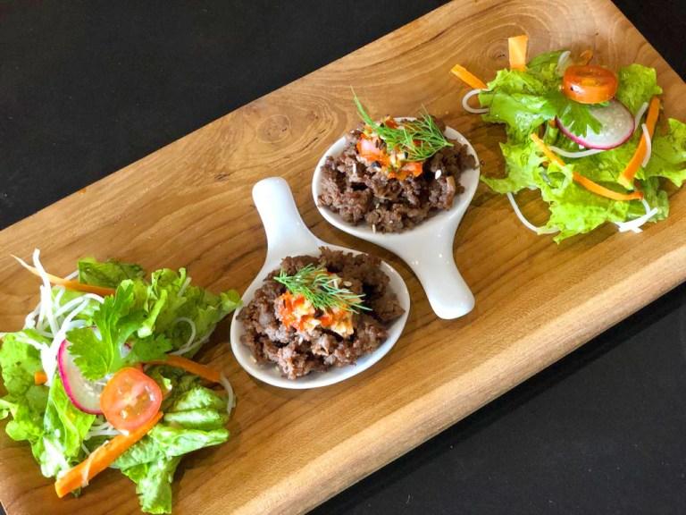 Mini Beef Salad dok. Hashtag ala tim Duniamasak