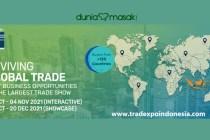 Opening ceremony trade expo indonesia 2021 banner dok. duniamasak.com