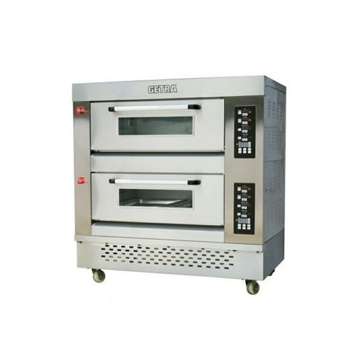 Jual oven pizza deck gas getra rfl 24ss via duniamasak