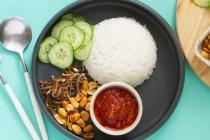 nasi lemak dan nasi uduk via nyonyacooking.com ala tim duniamasak.com