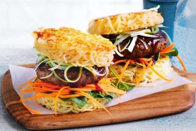 Ide Bisnis Kuliner Ramen Burger via taste.com.au ala Duniamasak.com