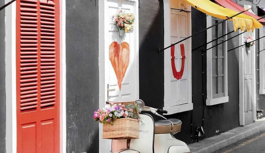 Cafe Unik untuk Prewed via ig/cafebrickjogja ala tim duniamasak.com