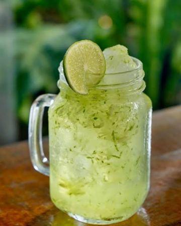 resep minuman segar es timun kerik serut via qupas.id ala tim duniamasak