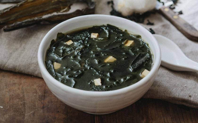 Resep sup rumput laut ala korea spesial hari ulang tahun via goodeggs.com ala duniamasak