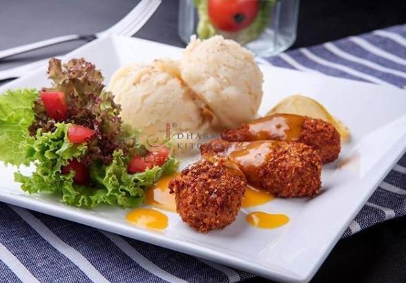 Restoran vegan vegetarian dharma kitchen via instagram.com/dharma.kitchen ala duniamasak