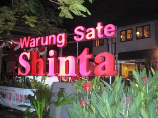 Warung Sate Shinta via sateshinta.wordpress.com