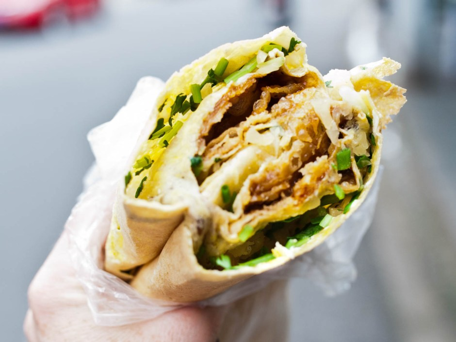 Street Food fusion london jianbing chinese via seriouseats ala duniamasak