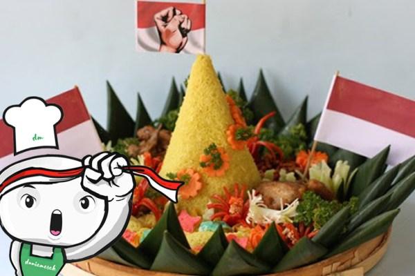 Makanan khas kemerdekaan ala DuniaMasak via trendterbaru.com