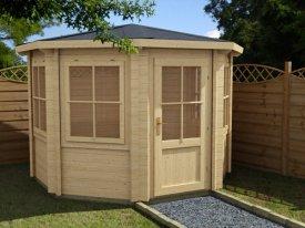 Log Cabins Dunster House