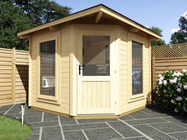 Sunlight Coronet Log Cabin Dunster House