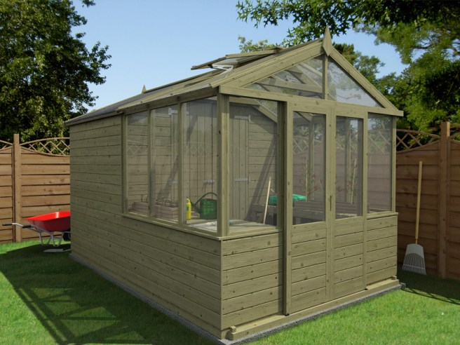 Greenhouse/Shed Dunster House
