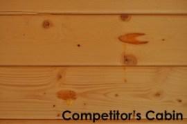 Log Cabin Comparison Dunster House
