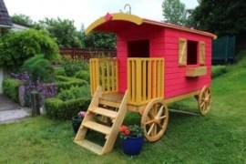 Christmas Spiel Caravan Dunster House