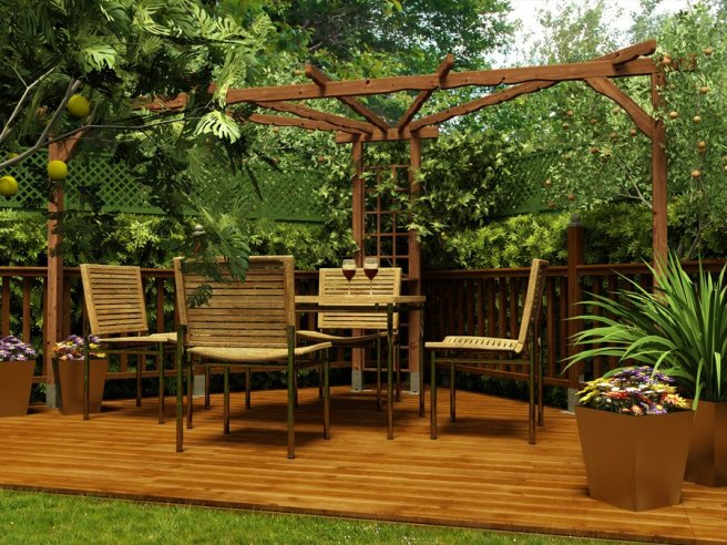 Pergola Dunster House Ultimate Summer Accessory