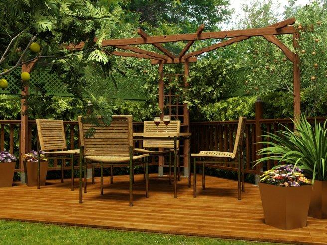 Pergola Dunster House Ultimate Summer Accessory