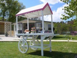 Spogagafa trade fair Dunster House Candy Cart
