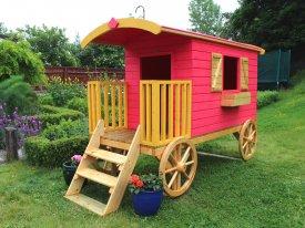 Wood Treatment Dunster House Spiel Caravan