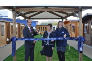 Mayor Opening Flixborough Branch Dunster House