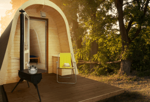 Glamping Pods Dunster House