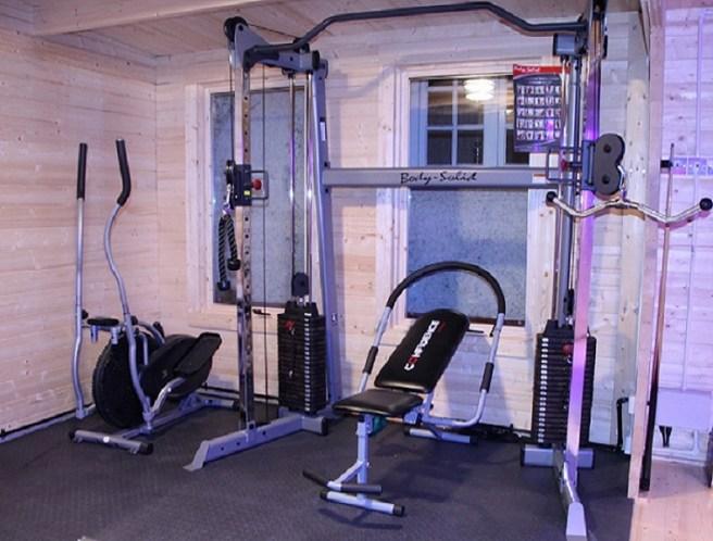Gym Log Cabin Dunster House