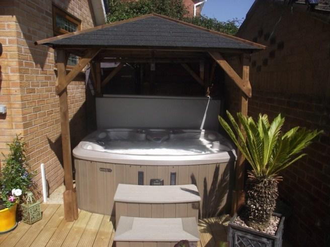 Case Studies Gazebo Dunster House Hot Tub