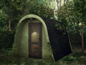 Man Cave Exterior Log Cabin Dunster House