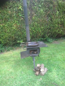 BBQ Stove Dunster House