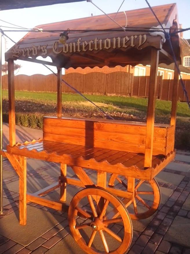 Customer Reviews Victorian Candy Cart