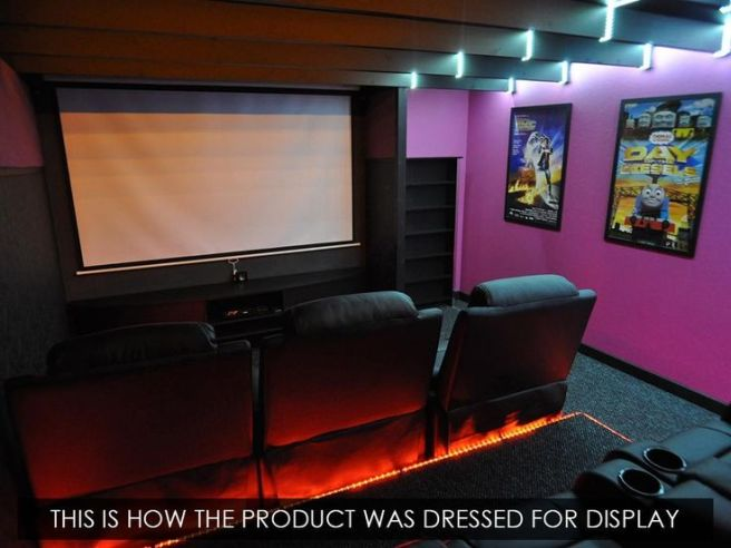Man Cave Cinema Dunster House