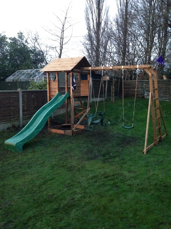 Customer Reviews Climbing Frame MaxiFort Frontier Dunster House