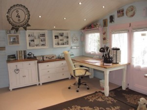 Log Cabin Transformations Home Office Interior Dunster House