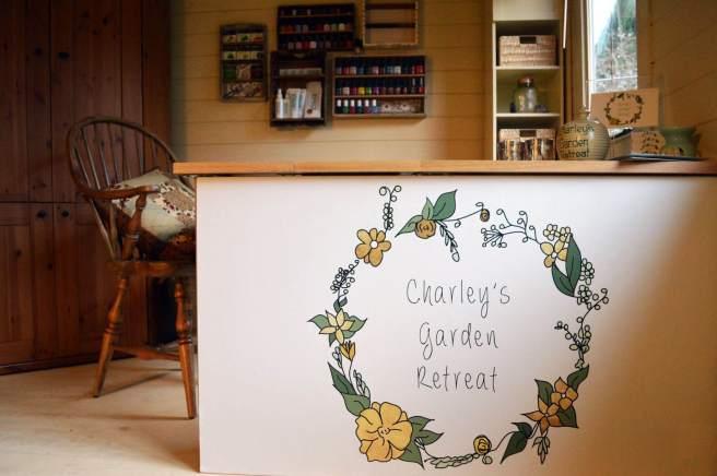 Garden Beauty Salon Interior - Severn Log Cabin from Dunster House