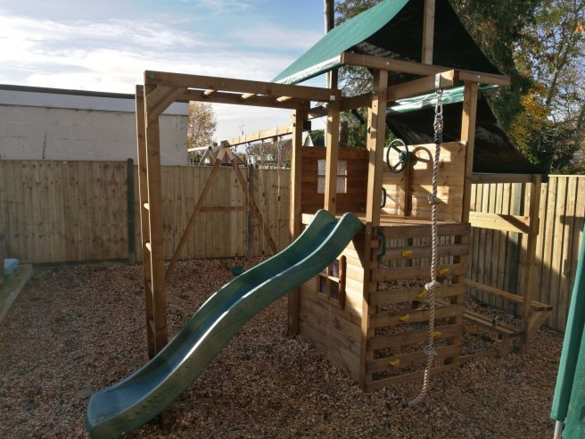 Customer Reviews: ManorFort Stronghold Climbing Frame
